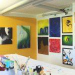 Offenes Atelier Farbäfroh am Schwyzer Kulturwochenende 2012