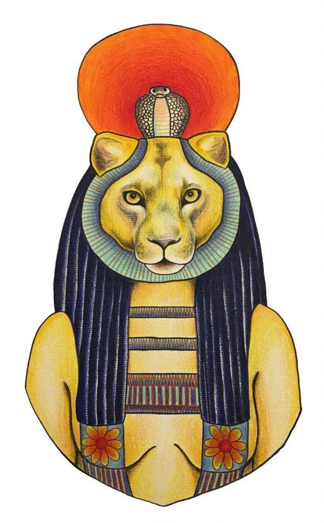 Göttin Sekhmet